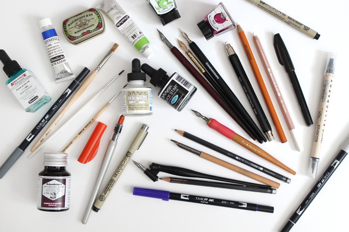 Lettering & Kalligraphie - Tools und Tipps für Anfänger